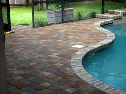 Patio Bricks At Lowes by Stone Texture Exterior Design Terrific Tremron Pavers For Your