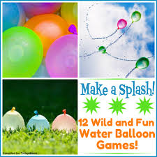 todaysmama com water balloon games 12 splashy backyard activities