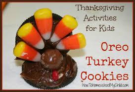 oreo turkey cookies pilgrim hat cookies how to homeschool my child