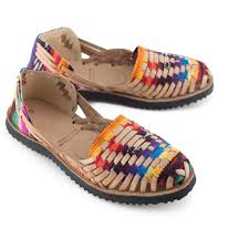 Traditional by Ix Style Traditional Mayan Woven Leather Huarache Sandal Ethical