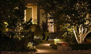 landscape lighting design ideas backyard fence ideas