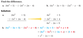 9 1 add and subtract polynomials match club help site