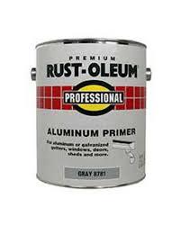 rust oleum professional gray aluminum primer 1 gal at menards