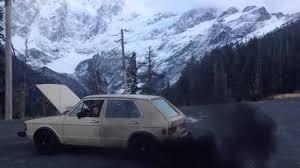 1981 volkswagen rabbit truck diesel rabbit rollin coal youtube