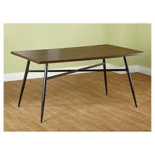 milo mixed media dining table black wood tms target