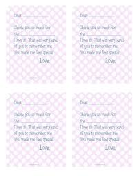printable thank you cards the house of hendrix