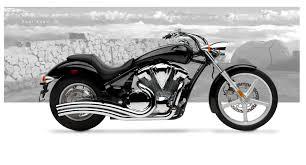 Honda Phantom 2013 Honda Vt 1300cs Sabre Motorcycle Exhaust Dual Radius Chrome