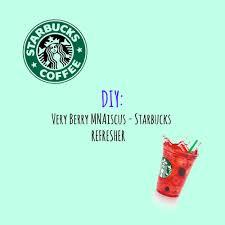 Starbucks Map My New Very Berry Mnaiscus Starbucks Refresher Mna U0027s Map