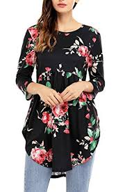 floral blouse alvaq 3 4 ruffle detailed sleeve floral blouses s 4