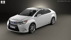 lexus car 2014 360 view of lexus hs 2014 3d model hum3d store