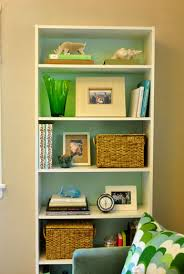 Green Bookcase Roundup Diy Gems Ikea Bookcase Bookcase White And Tabletop
