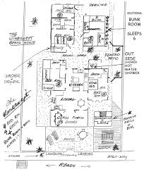 floorplan beach house for rent in panama city beach fl
