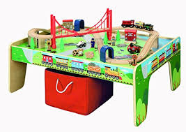 kidkraft train table compatible with thomas thomas the train table toy train center