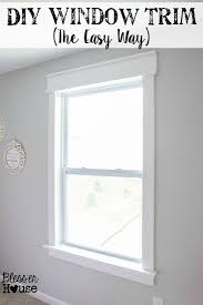 how to decorate a craftsman home diy window trim the easy way