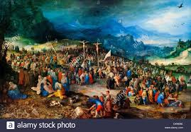 the crucifixion of christ jan brueghel the elder 1568 1625