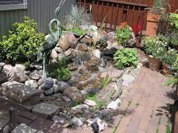 Backyard Pondless Waterfalls by Pondless Waterfalls Work Well When Space Is At A Premium Hometalk