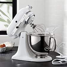 Kitchen Aid Standing Mixer by Kitchenaid Ksm150pspt Artisan Pistachio Stand Mixe Crate And Barrel