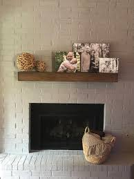 modern rustic fireplace mantel 3ft to 8ft long