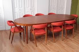 Teak Dining Room Chairs Kristensen Teak Chairs With Harry Ostergaard Teak Dining Table