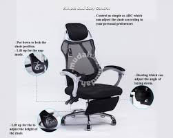 bucket seat recliner office chair with foot rest furniture