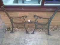 Cast Bench Ends Cast Iron Bench Ends Garden U0026 Patio Benches For Sale Gumtree