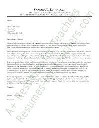 letter of interest for teachers letter idea 2018