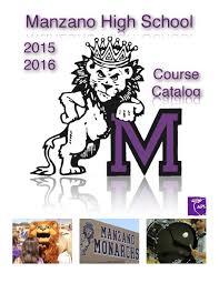 manzano course catalog 2015 16 by jennifer huynh issuu