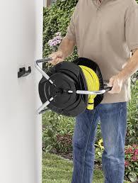 best wall mounted hose reel 25m free standing wall mounted hose reel kärcher uk