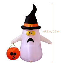 amazon com yunlights halloween inflatable decorations for