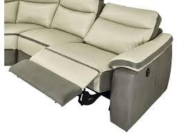 canape trevise canapé d angle relaxation électrique 5 places en cuir trevise