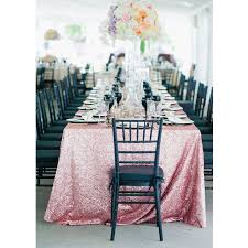 90 x 156 table sale choose your color 90 x 156 pink gold sequin