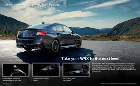 2016 subaru impreza wheels 2016 subaru wrx sport package available this summer autoevolution