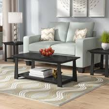 livingroom table sets coffee table sets you ll wayfair ca