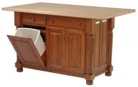 kitchen island with garbage bin foter