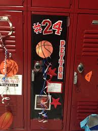Ideas For Decorating Lockers Best 25 Basketball Decorations Ideas On Pinterest Basketball