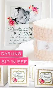 2nd baby shower ideas sip and see baby shower ideas party simplicity baby shower