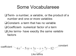 combining like terms the distributive property ppt video online