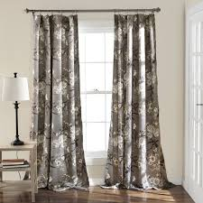 Curtain Pair Birch Lane Chapin Nature Floral Room Darkening Curtain Panel Pair