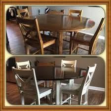 Painted Kitchen Tables And Chairs by Card Table Makeover Tutorial Tutorials Furniture Ideas And