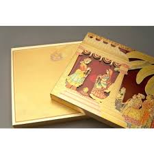 Indian Wedding Card Box Hindu Marriage Wedding Card Theme
