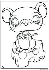 littlest petshop coloring pages free online 19