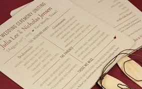 make your own wedding program rustic program fans made with twine and kraft cardstock diy