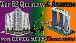 civil engineer interview questions and answers i help full for