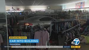 driver slams into goodwill store in pasadena donates coffee maker