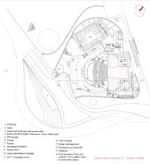 opera house floor plan gallery of busan opera house proposal task architects 7