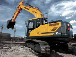 hx220 l crawler excavator
