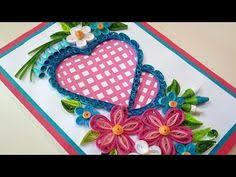 paper quilling how to make beautiful quilling heart and swans