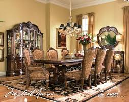 Aico Living Room Sets Traditional Living Room Sets Court Rectangular Dining