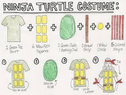 sewing pattern ninja costume easy 10 diy ninja turtles costume bunny baubles