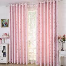 Pink Nursery Curtains Pink Polyester And Moon Room Nursery Curtains